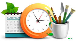 24 hours service image icon