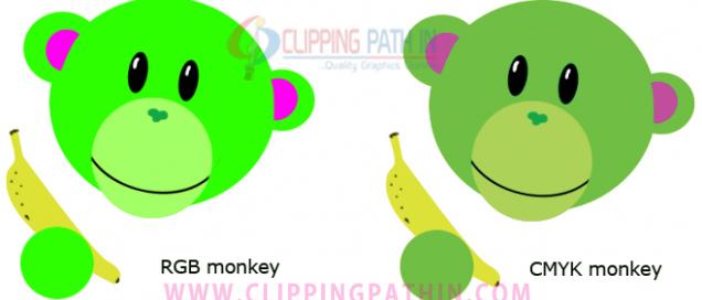 rgb and cmyk color comparison image