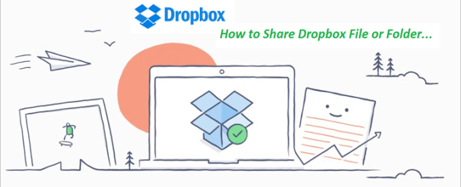 dropbox file sharing tutorial feature image